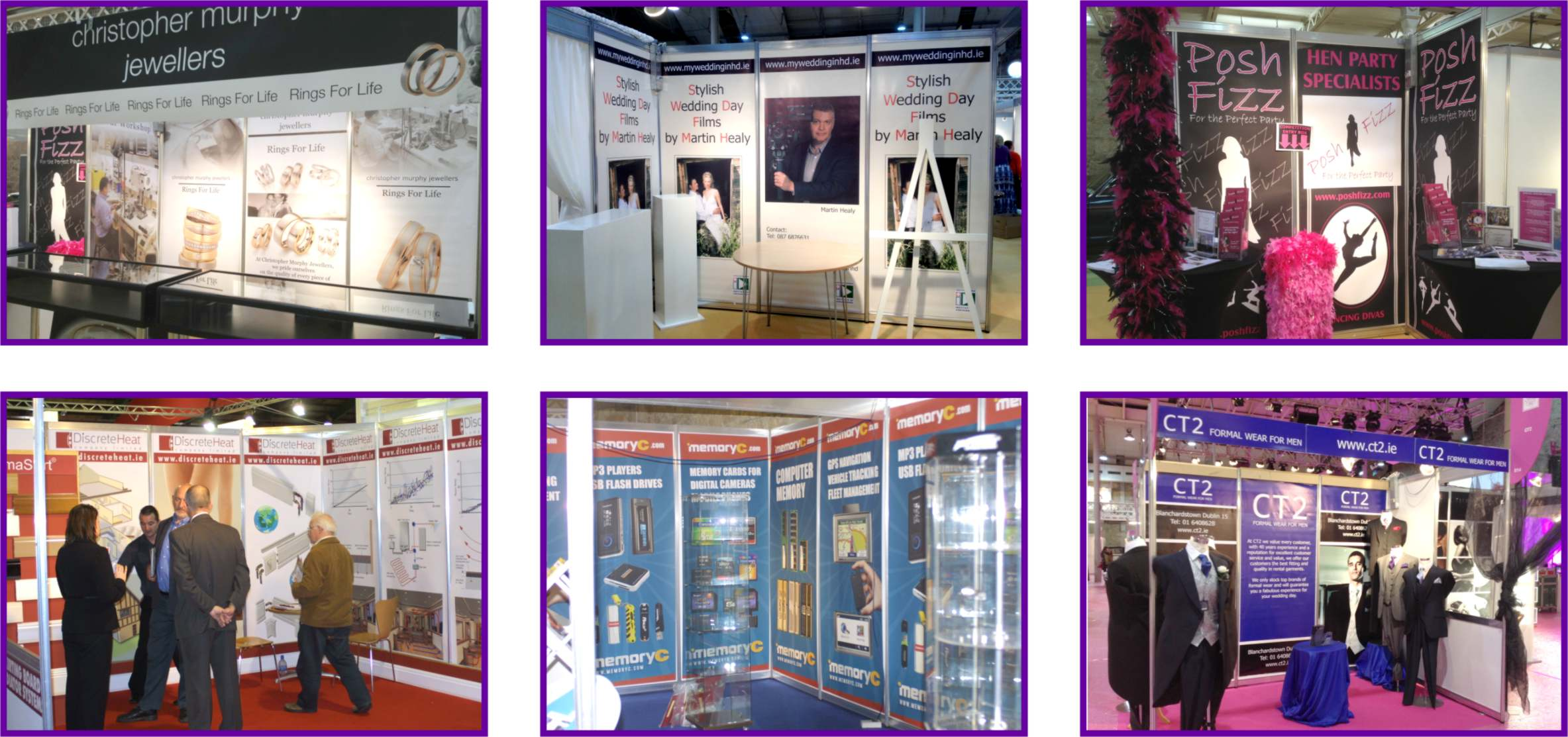 Exhibition Shell Graphics : Exhibition shell stand graphics image events