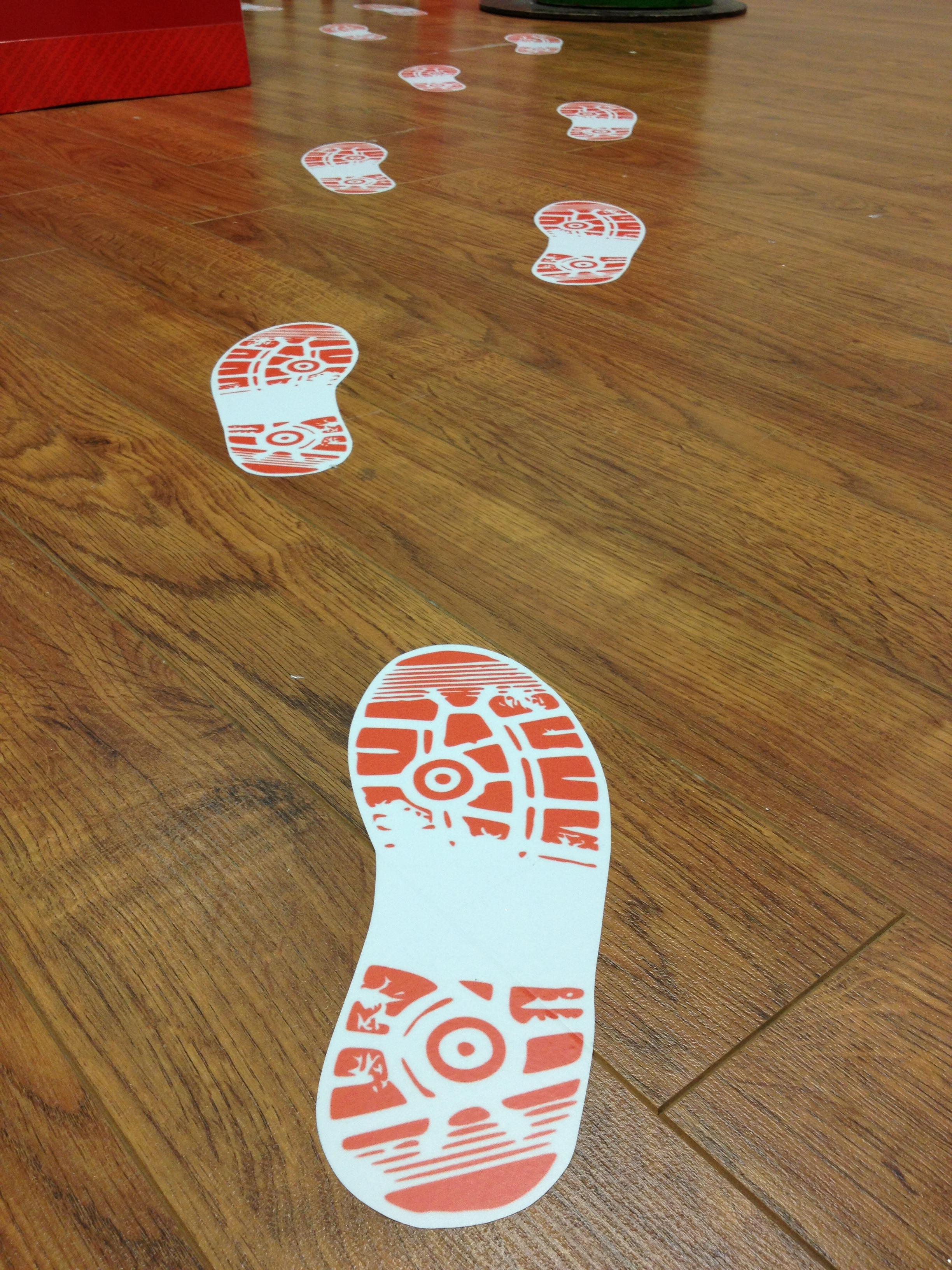 Floor graphics image events for Floor stickers
